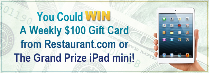 Win an iPad mini or $250 gift card